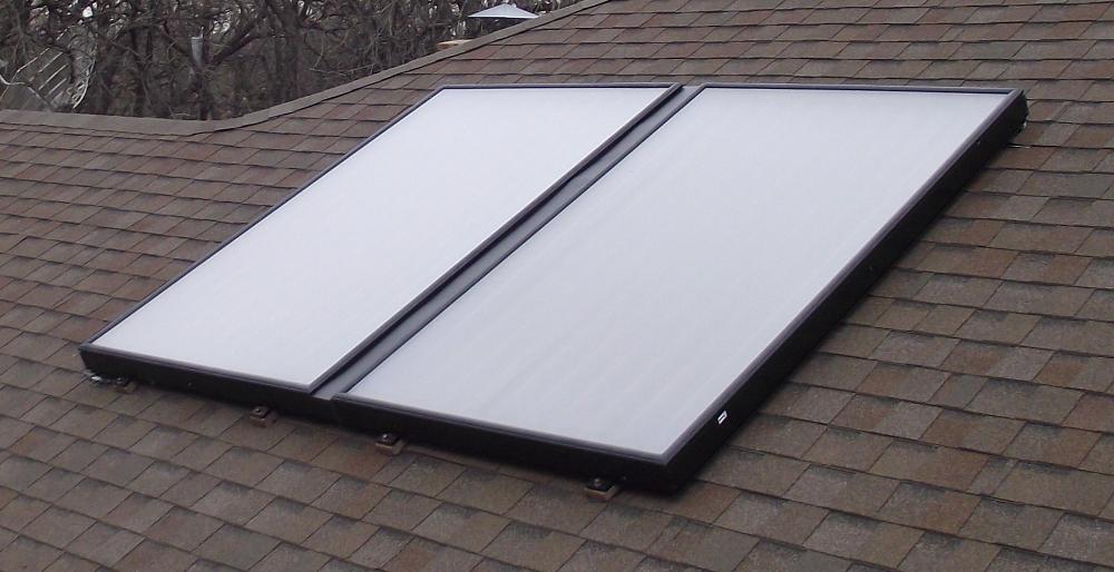 Aurinkokeräin katolla